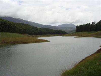 Lake in Munnar