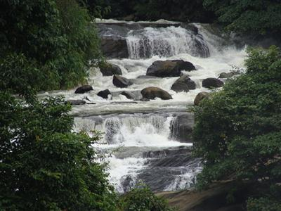 WaterFall on way to Munnar