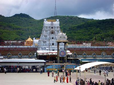 The main temple of Tirumala